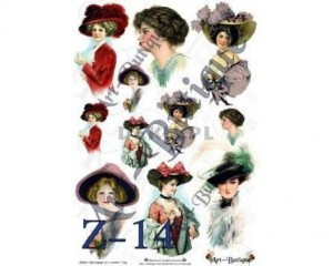 Papier do decoupage A3 210X305 - Art-Butique Z-14 1797