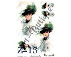 Papier do decoupage A3 210X305 - Art-Butique Z-13 1795