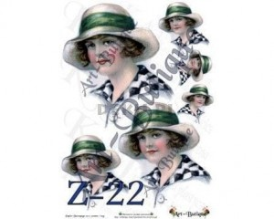Papier do decoupage A3 210X305 - Art-Butique Z-22 1805