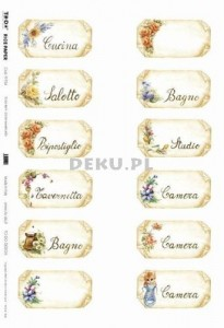 Papier do decoupage B2 50x70 - TO-DO R019 1113