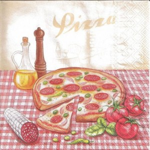 Serwetka do decoupage - Pizza 5123