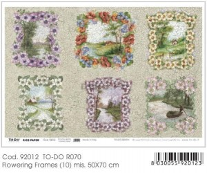 Papier do decoupage B2 50x70 - TO-DO R070 1124