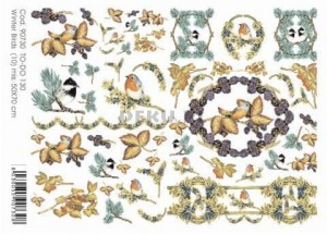Papier do decoupage B2 50x70 - TO-DO 130 1223