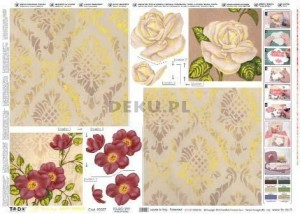 Papier do decoupage B2 50x70 - TO-DO 299 1100
