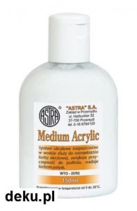 Spoiwo akrylowe Astra Medium Acrylic 150 ml 794