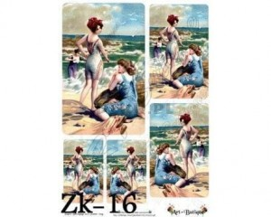 Papier do decoupage 210X305 - Art-Butique Zk-16 1644