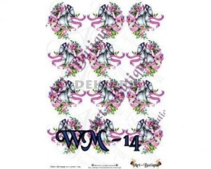 Papier do decoupage A3 210X305 - Art-Butique Wm-14 1678