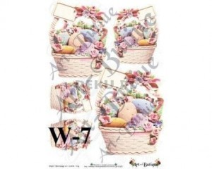 Papier do decoupage A3 210X305 - Art-Butique W-7 1522