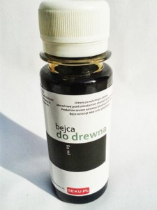 Bejca do drewna 60ml KOLOR: hebanowy 4098