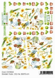Papier do decoupage B2 50x70 - TO-DO C010024 1920