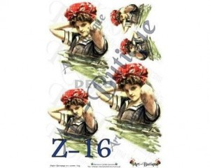 Papier do decoupage A3 210X305 - Art-Butique Z-16 1799