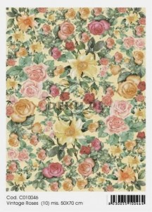 Papier do decoupage B2 50x70 - TO-DO C010046 1905