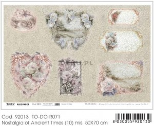 Papier do decoupage B2 50x70 - TO-DO R071 1125