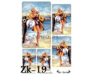 Papier do decoupage 210X305 - Art-Butique Zk-19 1647