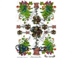 Papier do decoupage 210X305 - Art-Butique Bo-22 1600