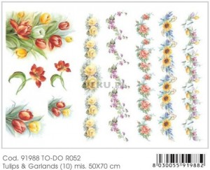 Papier do decoupage B2 50x70 - TO-DO R052 1122