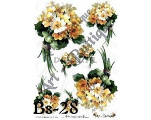 Papier do decoupage 210X305 - Art-Butique Bs-28 1755