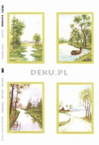 Papier do decoupage B2 50x70 - TO-DO R017 1110
