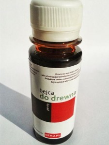 Bejca do drewna 60ml KOLOR: mahoń 4111