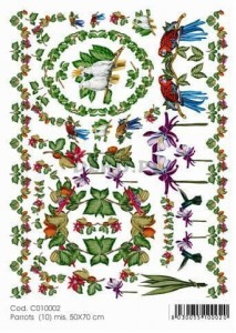 Papier do decoupage B2 50x70 - TO-DO C010002 1934