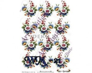 Papier do decoupage 210X305 - Art-Butique Wm-21 1686