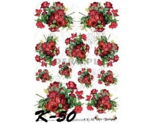 Papier do decoupage 210X305 - Art-Butique K-50 1397