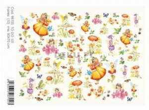 Papier do decoupage B2 50x70 - TO-DO 101 1240