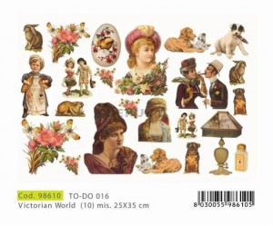 Papier do decoupage 250x350mm -TO-DO 016 1145