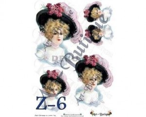 Papier do decoupage  210X305 - Art-Butique Z-6 1788