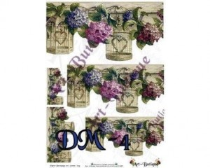 Papier do decoupage 210X305 - Art-Butique Dm-4 1760