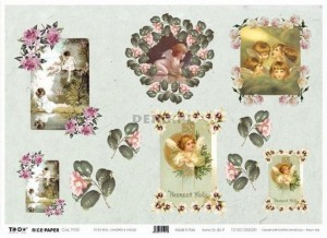 Papier do decoupage 350x500mm - TO-DO R016 1193