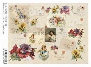 Papier do decoupage B2 50x70 - TO-DO 110 1234