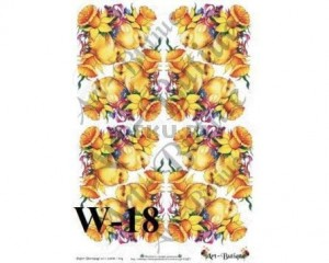 Papier do decoupage A3 210X305 - Art-Butique W-18 1533