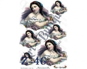 Papier do decoupage 210X305 - Art-Butique Z-46 1829