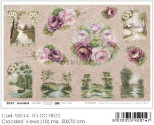 Papier do decoupage B2 50x70 - TO-DO R072 1126
