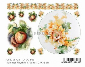 Papier do decoupage 250x350mm -TO-DO 503 1161