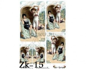 Papier do decoupage 210X305 - Art-Butique Zk-15 1643