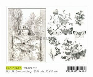 Papier do decoupage 250x350mm -TO-DO 023 1149