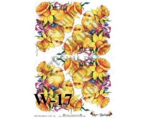 Papier do decoupage A3 210X305 - Art-Butique W-17 1532