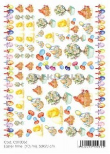 Papier do decoupage B2 50x70 - TO-DO C010036 1910