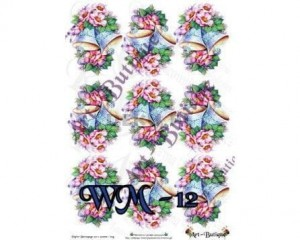 Papier do decoupage A3 210X305 - Art-Butique Wm-12 1676