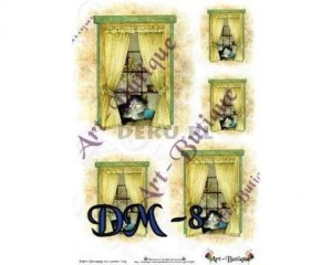 Papier do decoupage A3 210X305 - Art-Butique Dm-8 1764