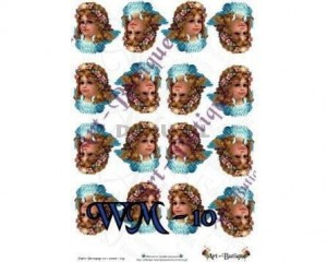 Papier do decoupage A3 210X305 - Art-Butique Wm-10 1674