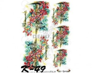 Papier do decoupage 210X305 - Art-Butique K-49 1396