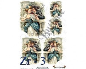 Papier do decoupage 210X305 - Art-Butique Zr-3 1450