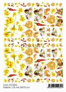 Papier do decoupage B2 50x70 - TO-DO C010032 1914