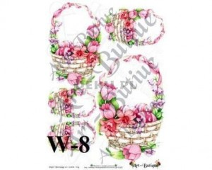 Papier do decoupage A3 210X305 - Art-Butique W-8 1523