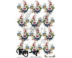 Papier do decoupage 210X305 - Art-Butique Km-17 1899