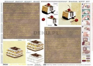 Papier do decoupage B2 50x70 - TO-DO 297 1099